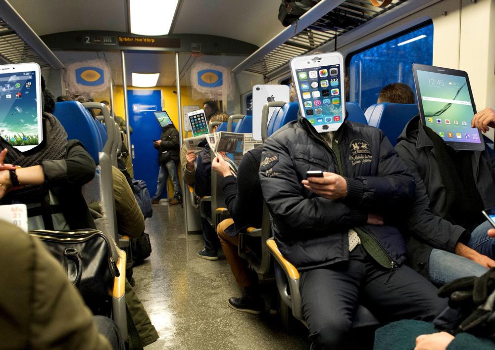 gezellig met de trein